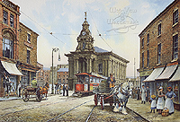 A Picture of  Burslem - The Mother Town of the Potteries