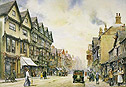 Not a picture of the potteries - but a picture of Greengate St. Stafford
