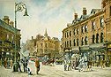 Old Hanley Town - A typical town center picture of the potteries