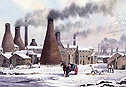 Gladstone Snow - a seasonal look to pictures of the potteries click for details