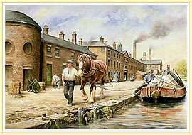 All in a Working Day - a classic Potteries Picture - click for details
