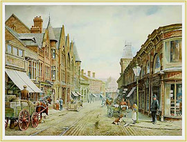 Daily Rounds shows the Strand Longton, a picture of the potteries familiar to many - click for details